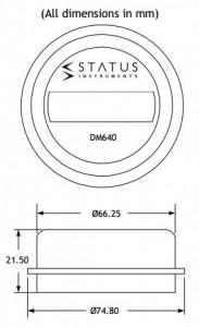 DM640 drawing