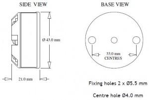SEM206TC Mechanical Drawing