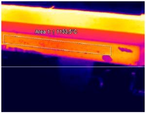 High temperature metals thermal imaging with PI 1M
