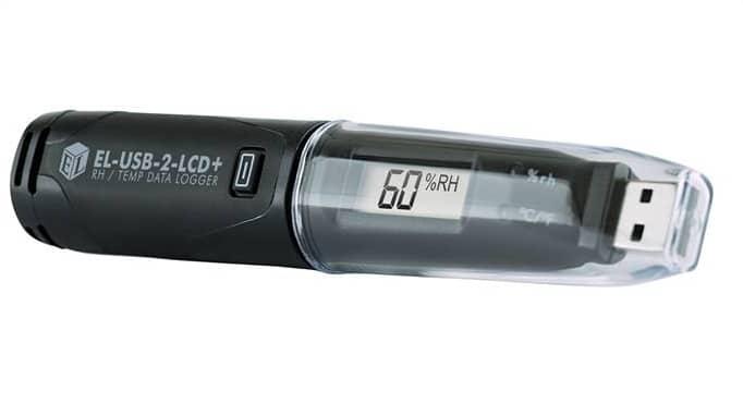 High Accuracy Temperature & Humidity USB Data Logger. EL-USB-2-LCD+ |  Process Parameters Ltd